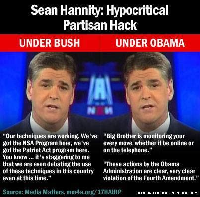 Sean Hannity Memes - sean hannity caught again being a hypocrite thinking out loud