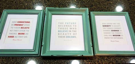 in framed diy framed quotes lindsayleinenkugel