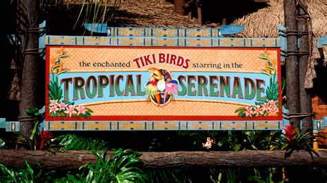 the tiki tiki tiki room this attraction was so bad disney fans cheered when it closed forever theme park tourist