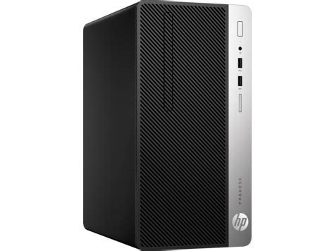 hp prodesk 400 g4 microtower pc(1jj78ea)| hp® africa