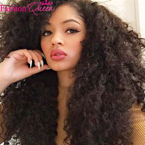 Clip In Hair Extension Frizzy Wave yaki curly hair weave curly hair