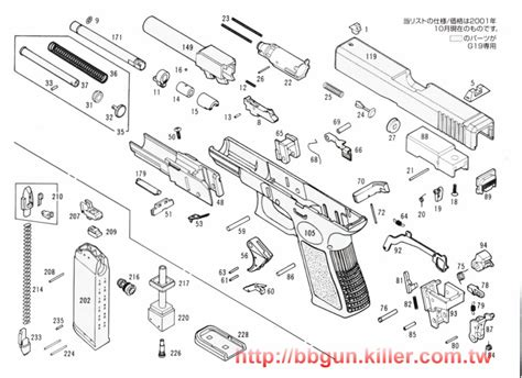 glock exploded diagram glock parts list and diagram glock get free image about