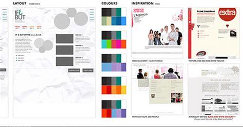 Mood Boarding Methods For Web Designers Board Website Template