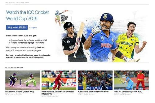 cricket world cup package deals
