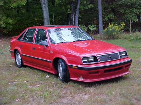 87 Chrysler Lebaron by Fs 87 Lebaron Gts 600 A A Kit Turbo Dodge