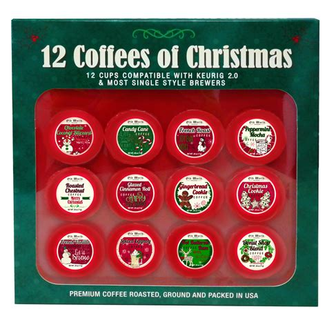 marketplace brands 12 coffees of christmas holiday gift set