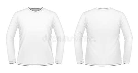 Kaos Panjang Longsleeve Nmax white sleeved t shirt stock illustration