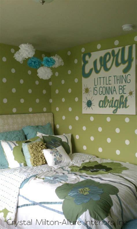 polka dot bedroom green bedroom the polka dot wall
