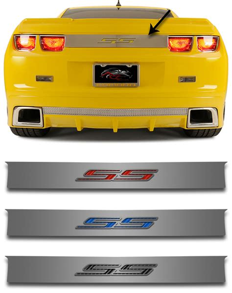 2010 Camaro Ss Interior Accessories by 2010 2013 Camaro Ss Trunk Lid Plate Chevymall