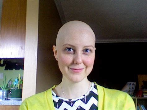 razor head shave girl young lady old cancer highly recommended a straight