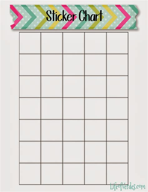 sticker chart template calendar sticker chart calendar template 2016