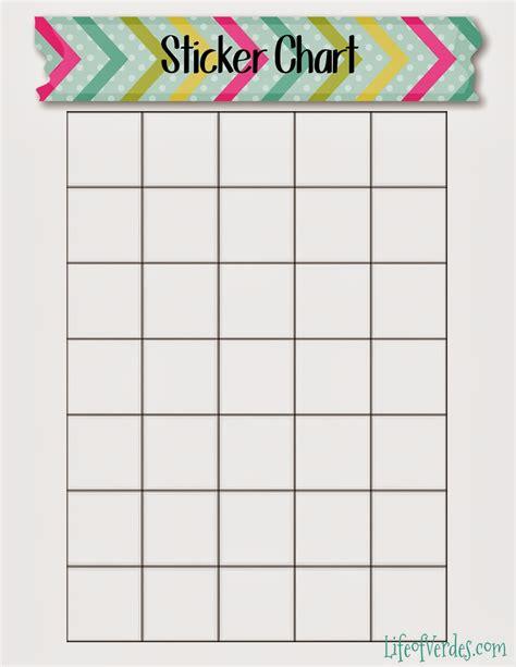 Sticker Chart Template calendar sticker chart calendar template 2016