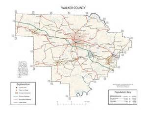 maps of walker county