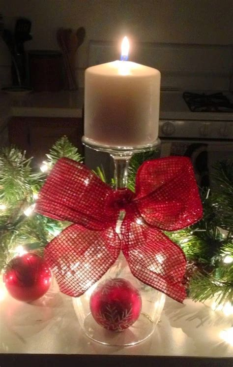 christmas wine vintage designed by arcadia floral home 1000 ideas about glass candle holders on pinterest