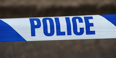 police tape dog tied to tree and set on fire in kirkcaldy police