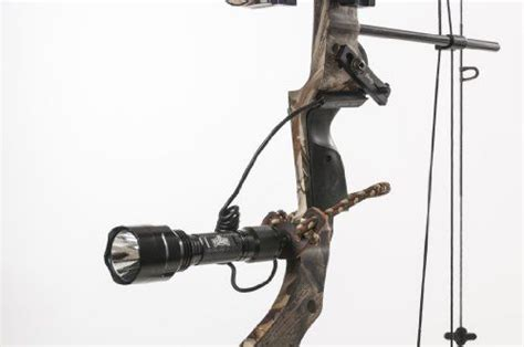 predator light for bow coyote hog and predator bow hunting light green led bow