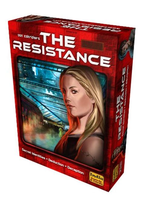 The Resistance Avalon Social Deduction Original Usa resistance coup card board new ebay