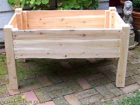 raised garden bed with legs 24in tall raised garden planter on legs raised bed