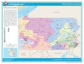 pennsylvania congressional districts map united states