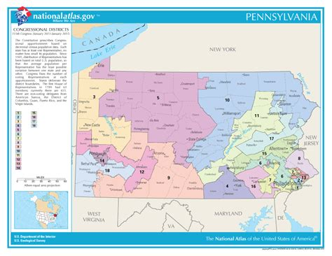 map us house districts pennsylvania congressional districts map united states