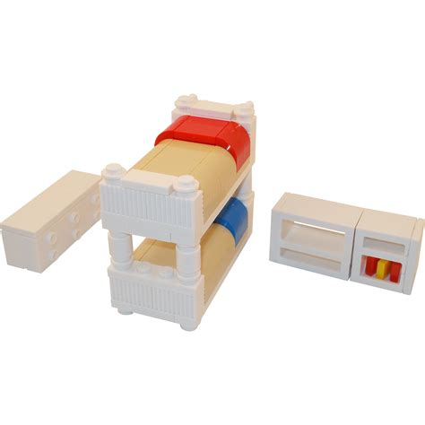 lego bed lego furniture bunk bed bedroom collection w dresser