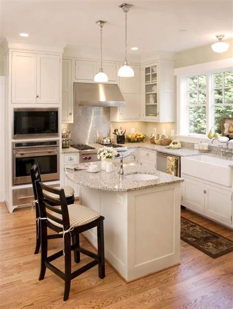 pictures of small kitchens with islands best 25 small kitchen islands ideas on small