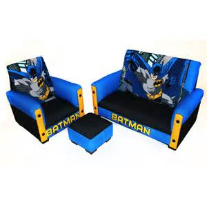 Batman Bedroom Sets Batman Toddler Sofa Chair And Ottoman Set Baby S 1st
