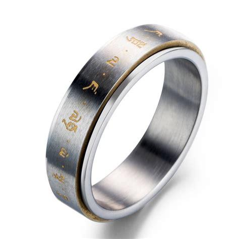96 mens wedding rings that spin mens wedding band