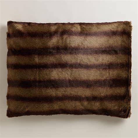 faux fur bed mink faux fur pet bed world market