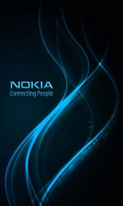 wallpaper nokia blue download nokia logo wallpapers to your cell phone