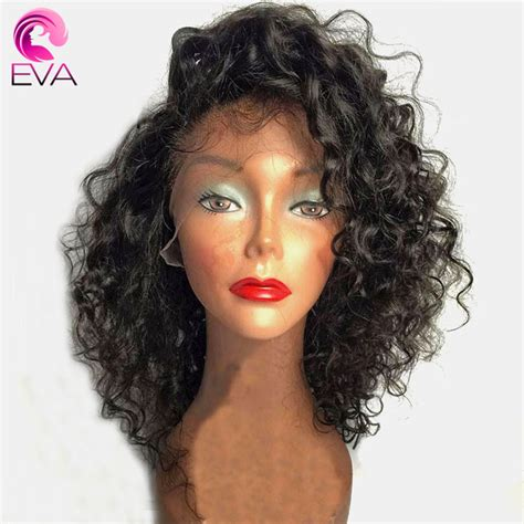 remy hair extensions for black women eva hair curly lace front human hair wigs for black women