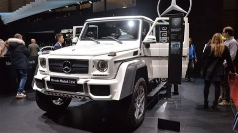 mercedes maybach g650 landaulet offers v12 power s class