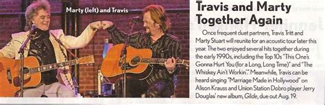 Shana Travis Together Again by Travis And Marty Together Again Country Weekly July 28