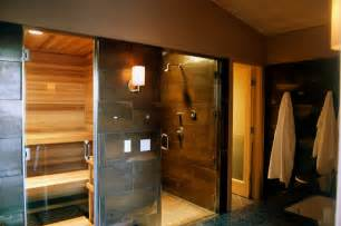 sauna shower combo contemporary new york with rustic
