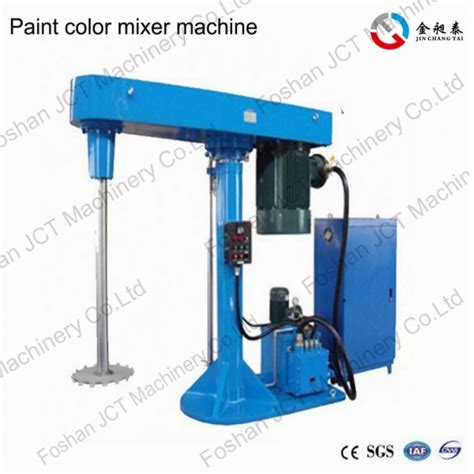 high speed dispersion machine the paint color mixer machine