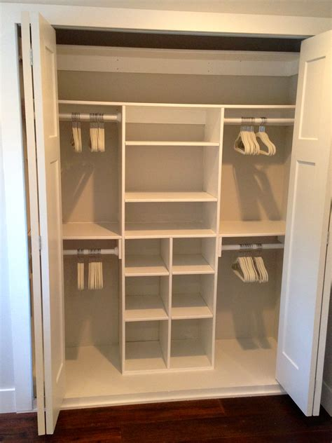 white just size closet diy projects