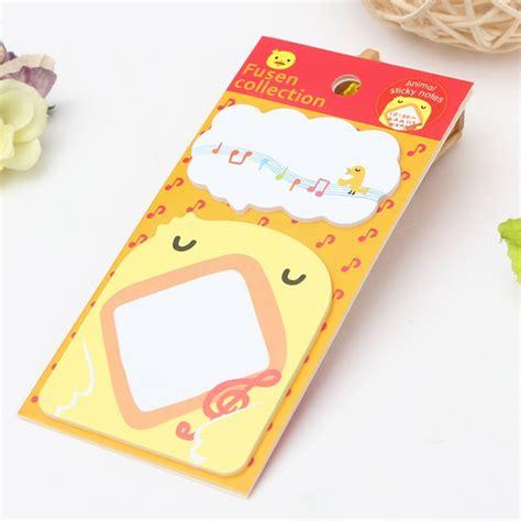Animal Pattern Sticky Notes buy 18 animal pattern sticky note memo pad message sticker