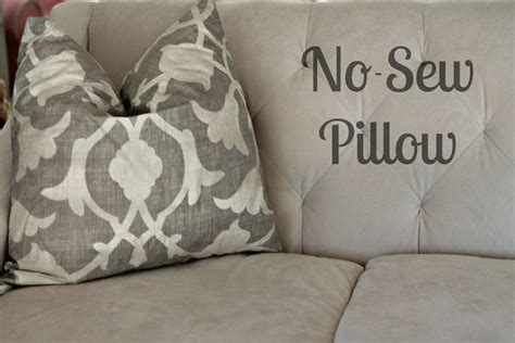 No Sew Throw Pillows - 17 best images about pillows no sew on