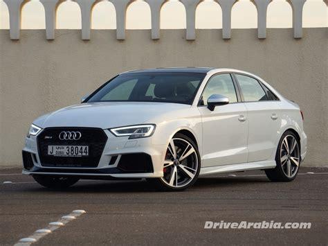 New Audi Rs3 2018 by 2018 Audi Rs3 Sedan Review Drive Arabia