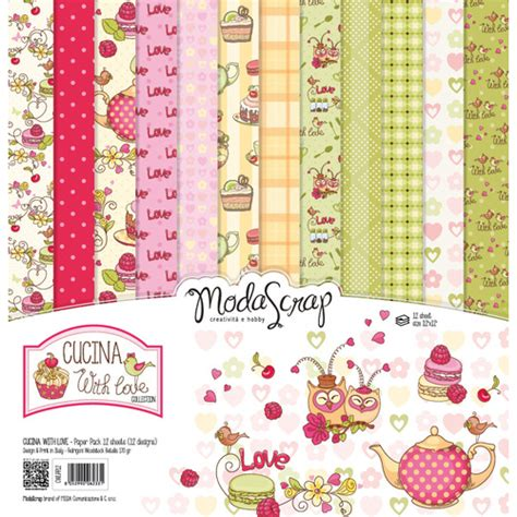 elizabeth craft designs 12x12 quot paper pack cucina with