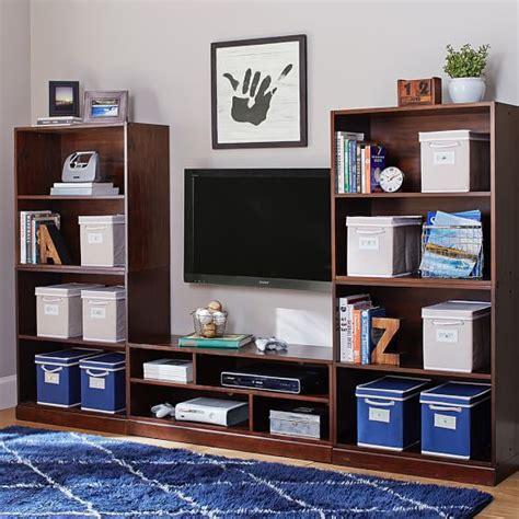 stack me up bookcase stack me up tall media bookcase superset pbteen