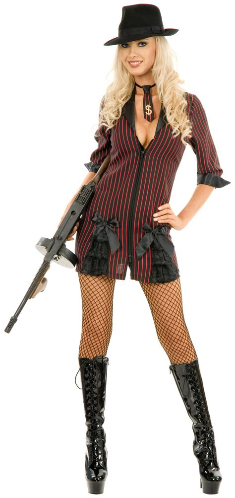 plus size gangster costume women womens mob boss gangster costume gangsters gangster