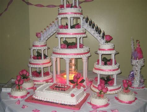 Quinceanera Cakes Gallery by Gallery Quinceanera Cakes With Fountains