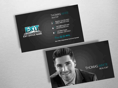 Order Exit Business Cards Free Shipping Design Templates Exit Realty Business Cards Exit Realty Business Cards Template