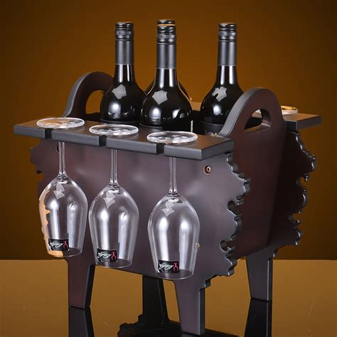 Wine Out Of Upholstery by 2016 Creative Wood Wine Holder Furniture 38cm H Antique