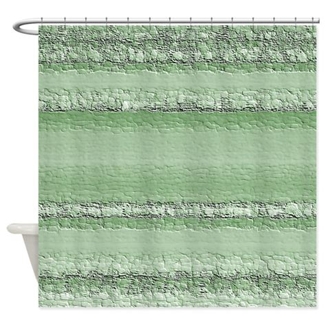 neutral green neutral green shower curtain by outofdomsmind