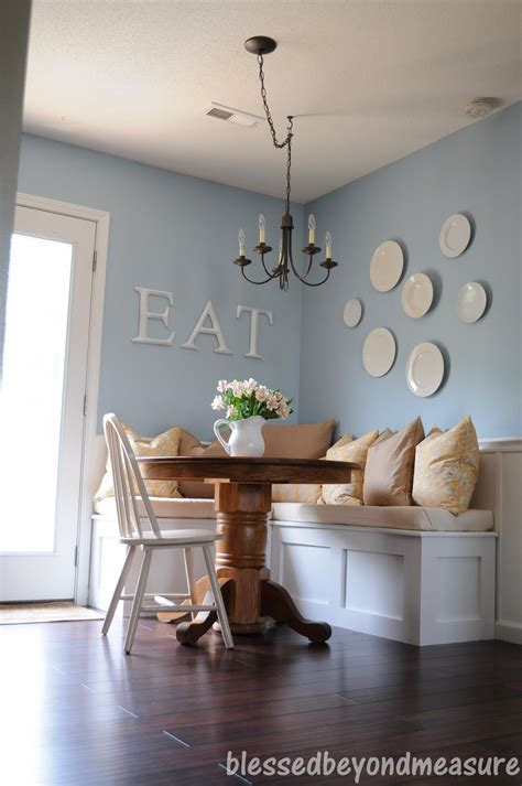 kitchen decorating ideas pinterest blessed beyond measure our new banquette seating