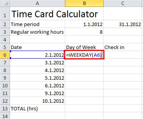 calculator days how to convert date into week days in excel 5 ways to