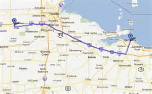 Ohio Turnpike Map by Glueguru Glue Guru S