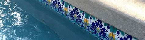 decorative pool tiles tiles for swimming pools fountains patios and stairways